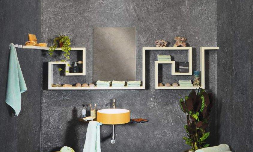 LagoLinea bathroom shelves