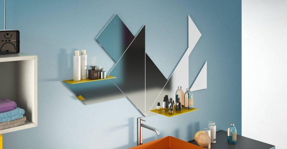 Tangram Mirror
