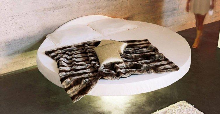 Fluttua Round Bed